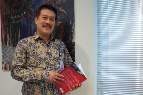 Agus Santoso, deputy chairman of the money-laundering watchdog PPATK, hopes Indonesia will have a new law targeting terrorist financing by February. The law would enable authorities to freeze bank accounts used to finance terrorism.